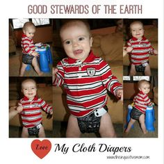 Love My Cloth Diapers - Good Stewards of the Earth - The Inquisitive Mom @Cotton Babies #lovemyclothdiapers