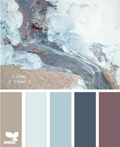 Always hunting for paint color inspiration.  I like this combo...If I had my old house.  I would use these colors on the outside....!