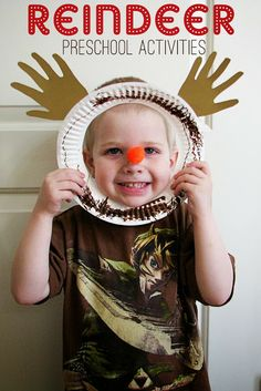 Cute reindeer craft for little ones