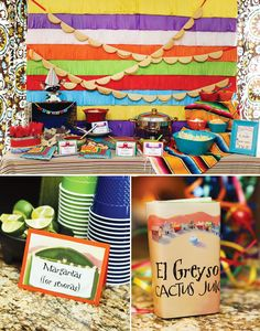 Another great mexican birthday theme party on HWTM