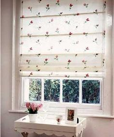 how to make a roman blind #diy