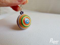 Colorful earrings  rainbow earrings women by PaperPiecebyEmelie, $44.99