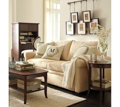 Chloe Side Table | Pottery Barn - idea for family room. round side table