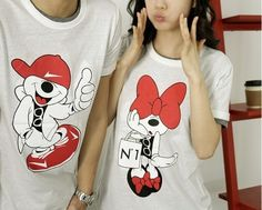 more mickey and minnie couple shirts