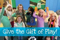What's the best holiday gift for a young family? A membership to their local children's museum or science center! Our memberships offer the gift of play and family time all year round.