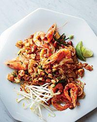 Shrimp Pad Thai Recipe on Food & Wine