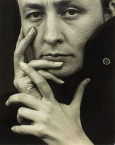 Happy 125th Birthday to Georgia O'Keeffe!! (Nov. 15th) #ART  Georgia O'Keeffe, hands. 1918. Photo by Alfred Stieglitz.