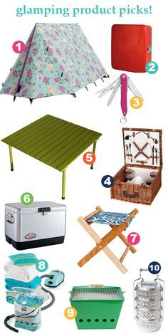 Glamping Trailers Interiors | Organize This: The Glam #Camper ! #glamping #camping #products #camper ...