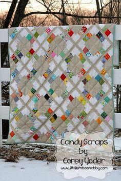 Moda Bake Shop: Candy Scraps Quilt