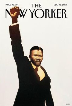 Mandela on the cover of The New Yorker