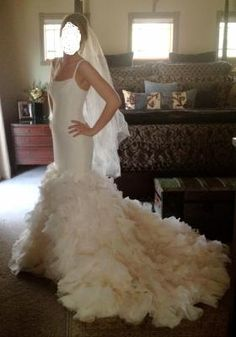Vera Wang Wedding Gowns On Pinterest Mermaid Gown