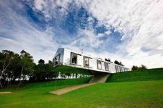 The Balancing Barn by Mole Architects. Suffolk.
