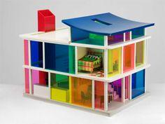 Bozart Kaleidoscope House Dollhouse ~ if I ever win the lottery, I'm buying one of these.