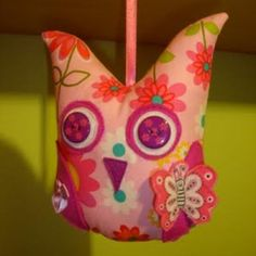Owl plushie with free pattern