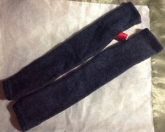 B80 char gray Cashmere armwarmer by mcleodhandcraftgifts on Etsy,