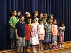 Kindergarten Graduation Song