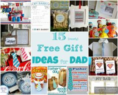 15 {Mostly} Free DIY Gift Ideas for Dad - Father's day is so close!