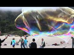 Giant Stinson Beach bubbles... Sometimes the most beautiful things in life last for only a moment.