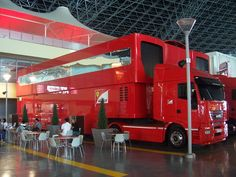 Ferrari Raised Semi Truck Trailer