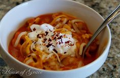 Tomato & Roasted Red Pepper Tortellini soup