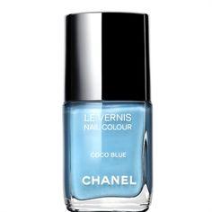 blue nails -- Something Blue!