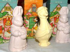 50% Off SALE Vintage Avon Soap Bunny Rabbit Goose Soap Original Box Easter Bunny Collectible AVON