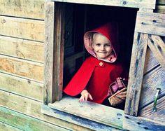 Hey, There, Little Red Riding Hood! by Victoria on Etsy