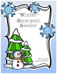 FREE!  Winter Emergent Reader