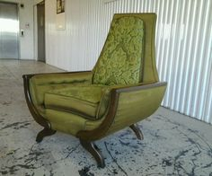 1960'S MODERN ADRIAN PEARSALL STYLE LOUNGE CHAIR