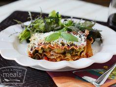 Mediterranean Vegan Lasagna | Once A Month Meals | OAMC | Freezer Cooking | Freezer Meals | Vegan