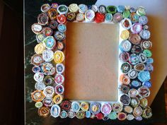recycl magazin, magazin frame, picture frames, recycled magazines