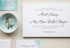 Betsy Dunlap Calligraphy and Mae Mae Paperie suite