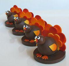 SugarEd Lagniappe: Turkey Cake Balls!