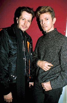 Gary Oldman & David Bowie