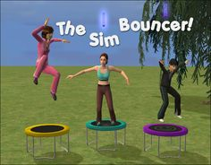 Nixed Sims featuring the awesome Sim Bouncer!