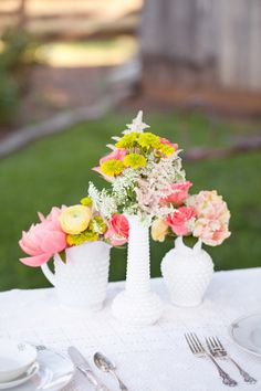 shabby chic wedding  //  mirelle carmichael photography