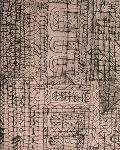 paul klee drawing, 1956