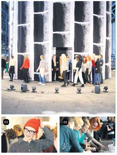 Behind the Scenes of Marimekko's Fall 2011 Fashion Show