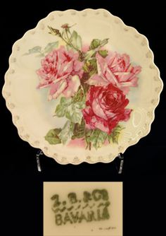 Decorative Plate by Z.S. & Co. Bavaria  /99