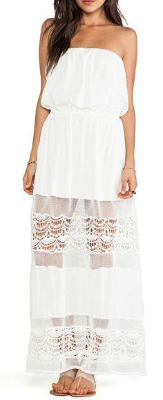 JARLO Veda Dress in Ivory