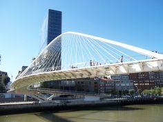Calatrava Bridge, Bilbao, Spain