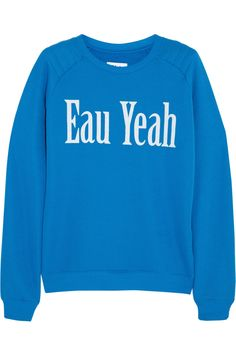 Shop now: Eau Yeah sweatshirt