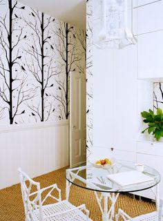 Blackbird wallpaper by Cavern Home