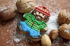 Lumberjack Gingerbread Man - Decorated Cookies for Guys