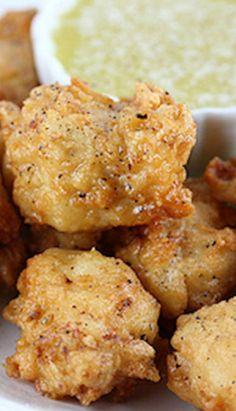 Boneless Lemon Pepper Chicken Wings Recipe ~ These chicken wings make a great appetizer!