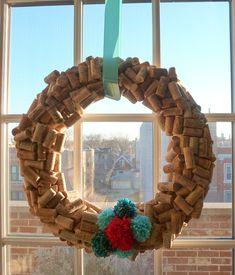 Design Improvised: Cork Wreath