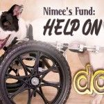 """Nimee's Fund:""""Help on Wheels!""""  Assisting Owners with Carts for Disabled Dogs"""