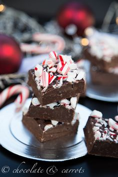 Peppermint Fudge using @Erin B B B McCormick Spice peppermint and vanilla extracts! #christmas #recipe