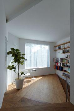 decor, interior design, squar, idea, houses, stair, white spaces, floors, flooring