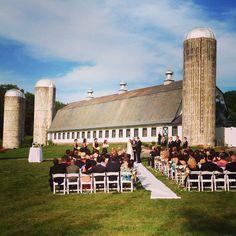 Congrats to Kristen & Dan!  Beautiful day for a wedding at Perona Farms.
